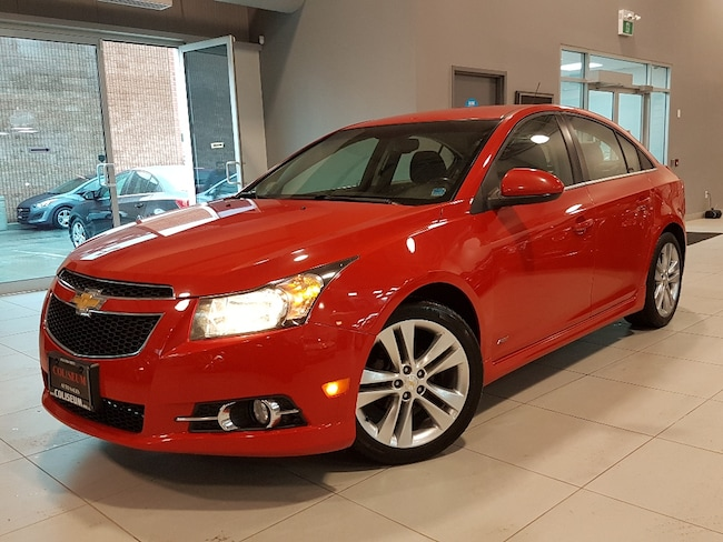 2014 Chevrolet Cruze RS 2LT-LEATHER-HEATED SEATS-BACK UP CAMERA Sedan