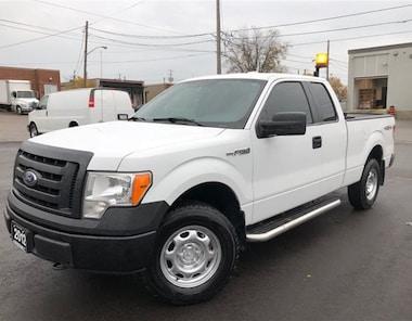 2012 Ford F-150 XL 4X4 **BACK RACK-ROLL UP TONNEAU** Truck Super Cab