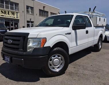 2010 Ford F-150 XL 4X4 **STORAGE BOX-LADDER RACKS** Truck Super Cab