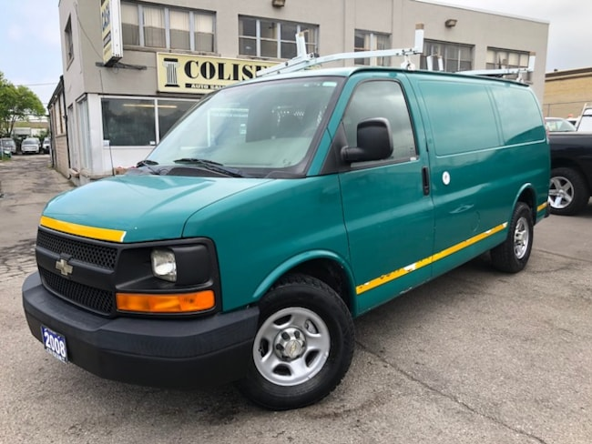 2008 Chevrolet Express **V6-LADDER RACKS-DIVIDER-ONLY 90KM** Van G1500 Cargo Van