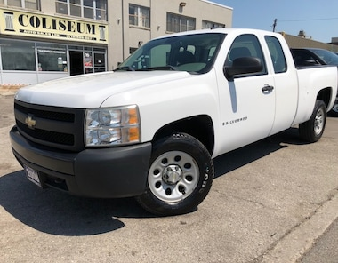 2008 Chevrolet Silverado 1500 4X4 **GOVERNMENT OWNED** Truck Extended Cab