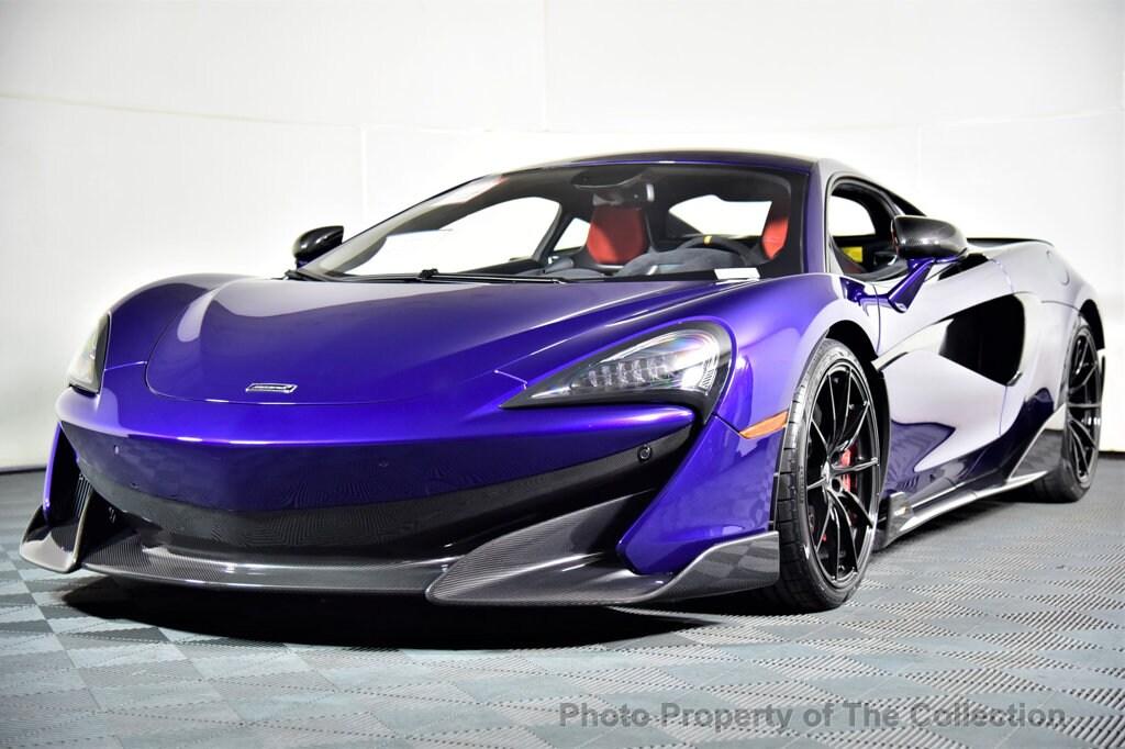 2019 McLaren 600LT Base Coupe