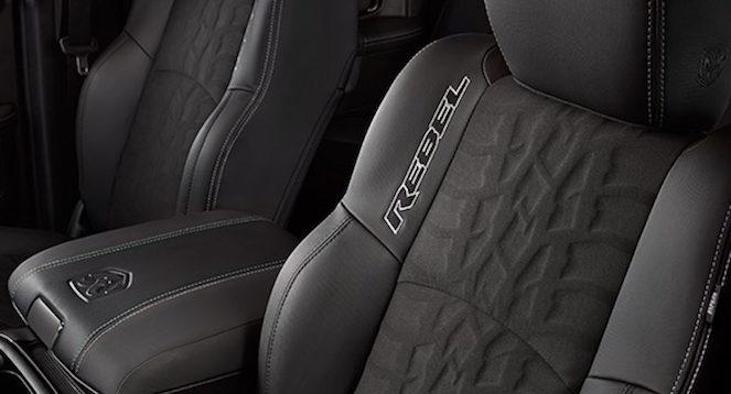 2017 RAM 1500 Rebel Black Edition interior