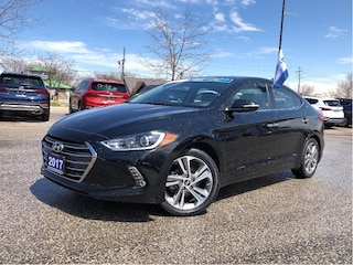 2017 Hyundai Elantra Limited BOUGHT AND SERVICED HERE  Sedan