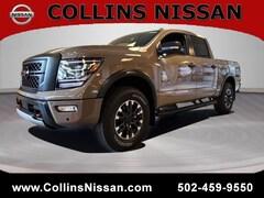 2021 Nissan Titan 4X4 Crew CAB PRO-4X truck