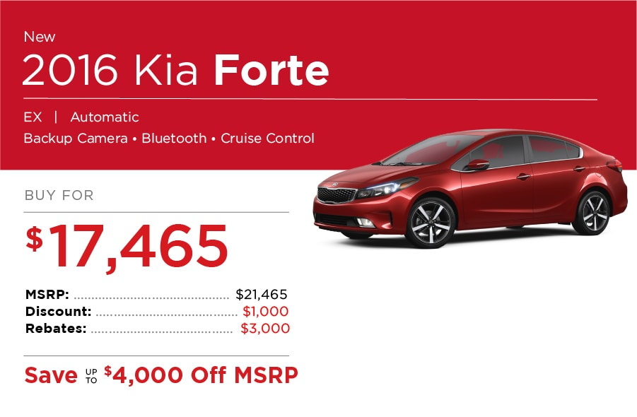Kia Forte Special Offers