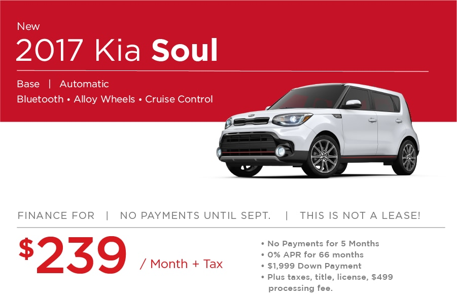 Kia Soul Special Offer