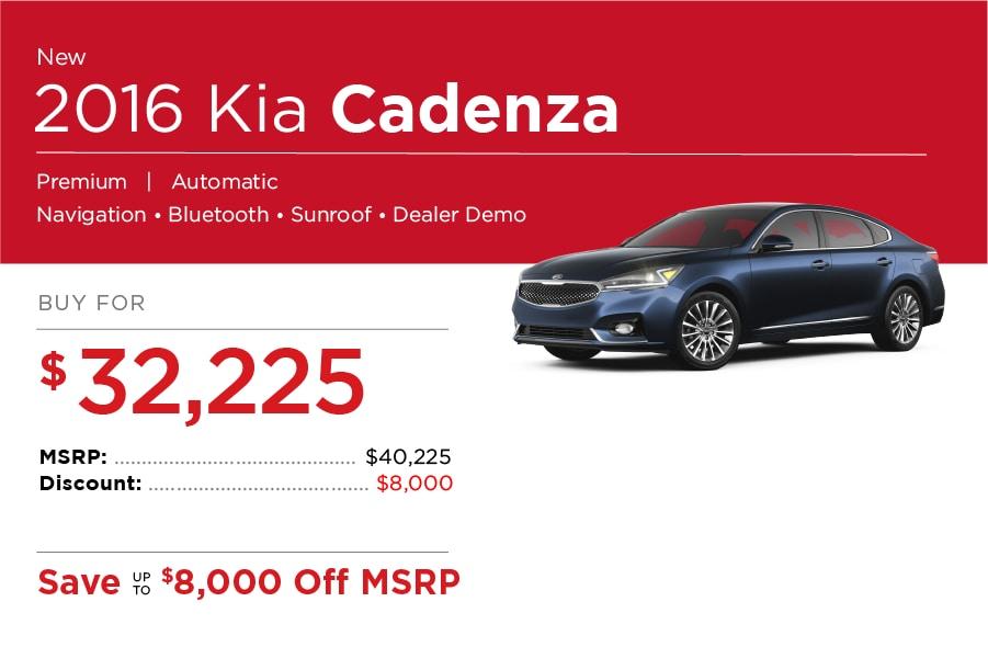 Kia Cadenza Special Offers