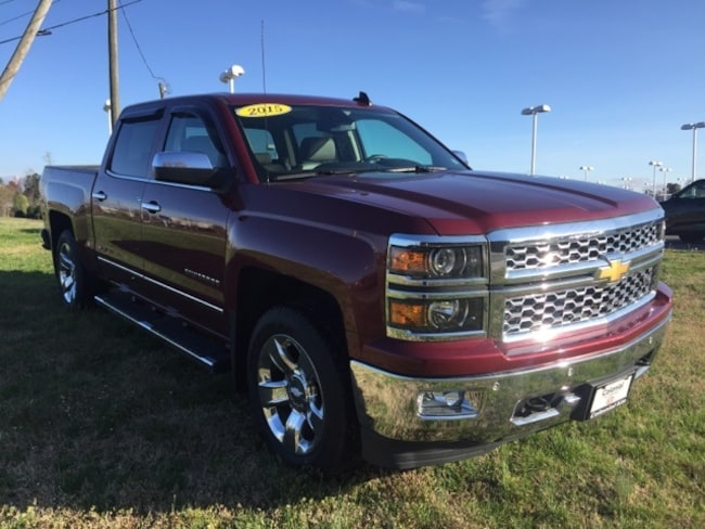used 2015 Chevrolet Silverado 1500 LTZ Truck Crew Cab colonial heights near Richmond VA
