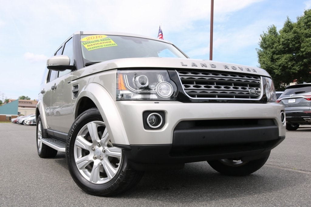 2016 Land Rover LR4 Base SUV