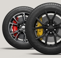 HIGH-PERFORMANCE BREMBO BRAKES