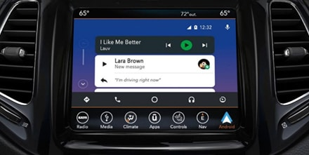 Android Auto INTEGRATION IN TUNE WITH YOUR ANDROID