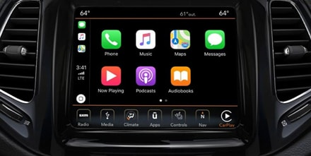 Apple Carplay SUPPORT YOUR FAVORITE APPS AT YOUR FINGERTIPS