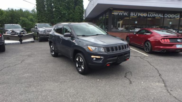 2017 Jeep Compass For Sale >> Used 2017 Jeep Compass For Sale Hudson Ma Vin 3c4njddb1ht657393