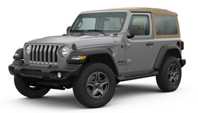 Jeep WRANGLER BLACK AND TAN