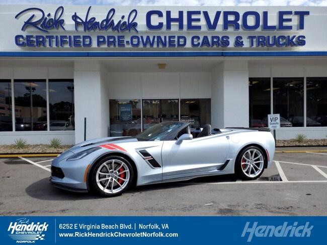 2017 Chevrolet Corvette Grand Sport 2LT Convertible