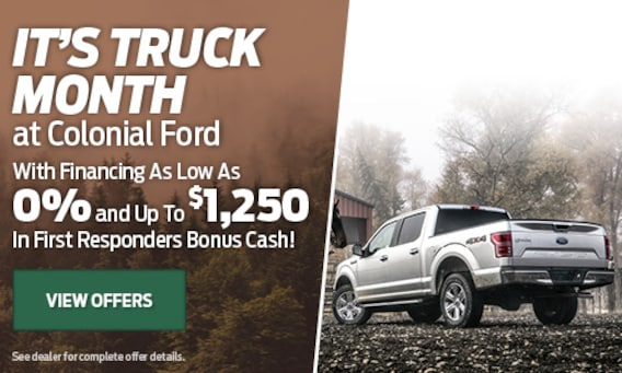 New 2019 & 2020 Ford Dealer | Colonial Ford in Danbury, CT