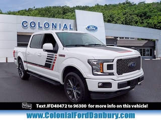 Used 2018 Ford F-150 LARIAT Truck SuperCrew Cab in Danbury, CT