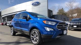 Bargain Used 2018 Ford EcoSport Titanium SUV in Danbury, CT