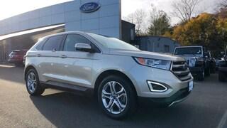 Certified Used 2018 Ford Edge Titanium SUV in Danbury, CT