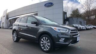 Certified Used 2017 Ford Escape Titanium SUV in Danbury, CT