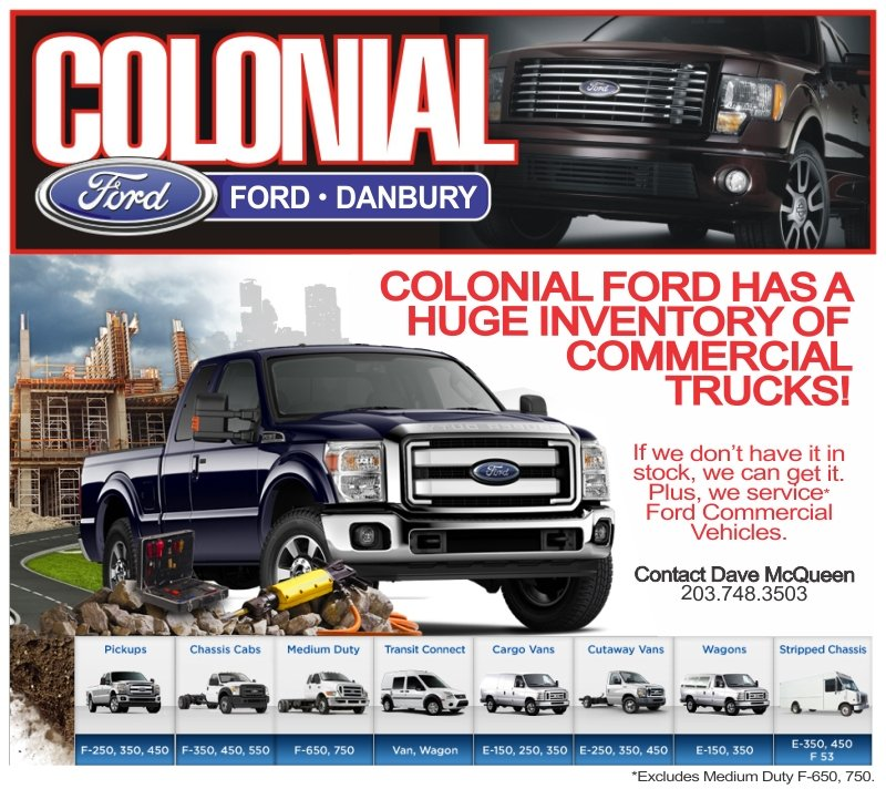 Colonial Ford Danbury Ct >> Colonial Ford