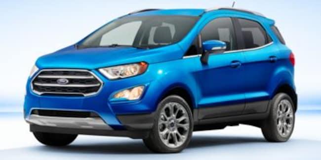 New 2019 Ford EcoSport Titanium Crossover in Danbury