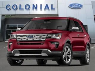 New 2018 Ford Explorer Sport SUV in Danbury, CT