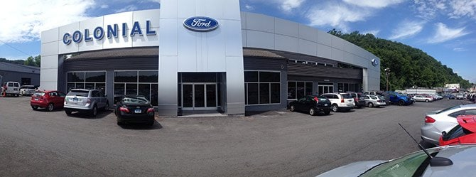 Colonial Ford New Ford Dealership In Danbury CT - Ford dealers in ct