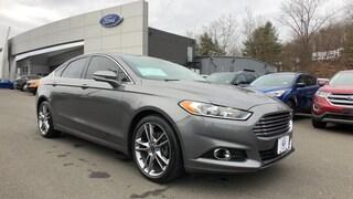 Bargain Used 2013 Ford Fusion Titanium Sedan in Danbury, CT