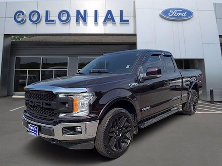 2018 Ford F-150 Lariat 4WD Supercab 6.5 Box Extended Cab Pickup