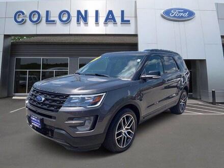 2017 Ford Explorer Sport 4WD Sport Utility