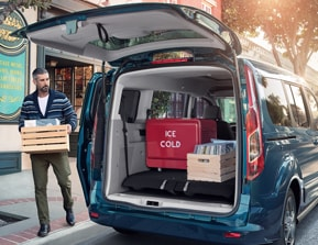 Swing-Out Rear Cargo Doors Or Liftgate