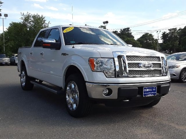 2011 Ford F-150 4WD Supercrew 145 Lariat Crew Cab Pickup