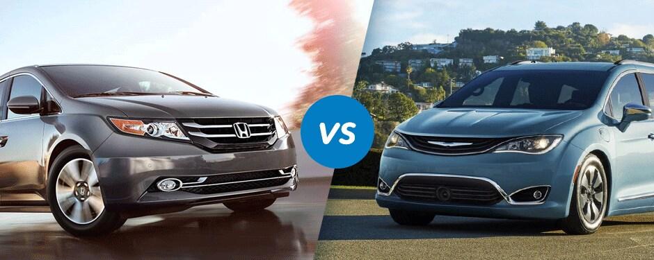 Comparison: 2017 Honda Odyssey vs 2017 Chrysler Pacifica