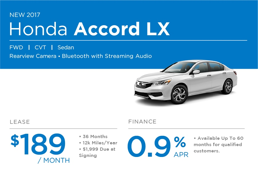 Honda Accord Special Offer