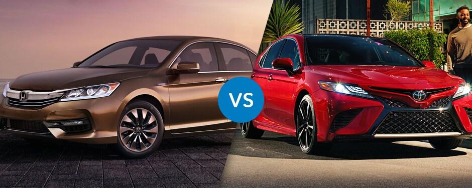 Comparison: 2017 Honda Accord Hybrid vs 2017 Toyota Camry Hybrid