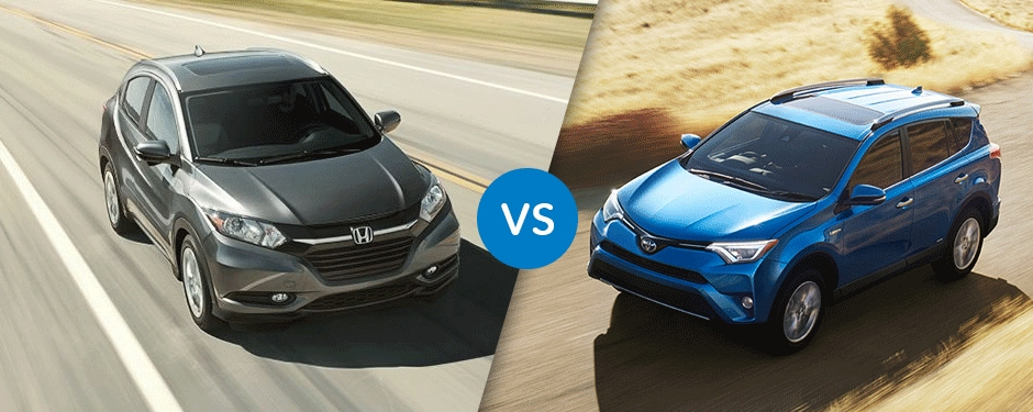 Review: 2017 Honda HR-V vs 2017 Toyota RAV4