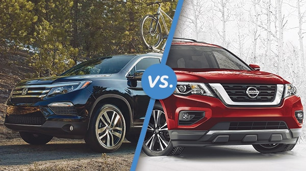 Comparison: 2017 Honda Pilot vs 2017 Nissan Pathfinder