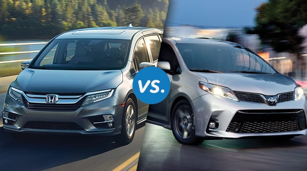 Comparison: 2018 Honda Odyssey vs 2018 Toyota Sienna