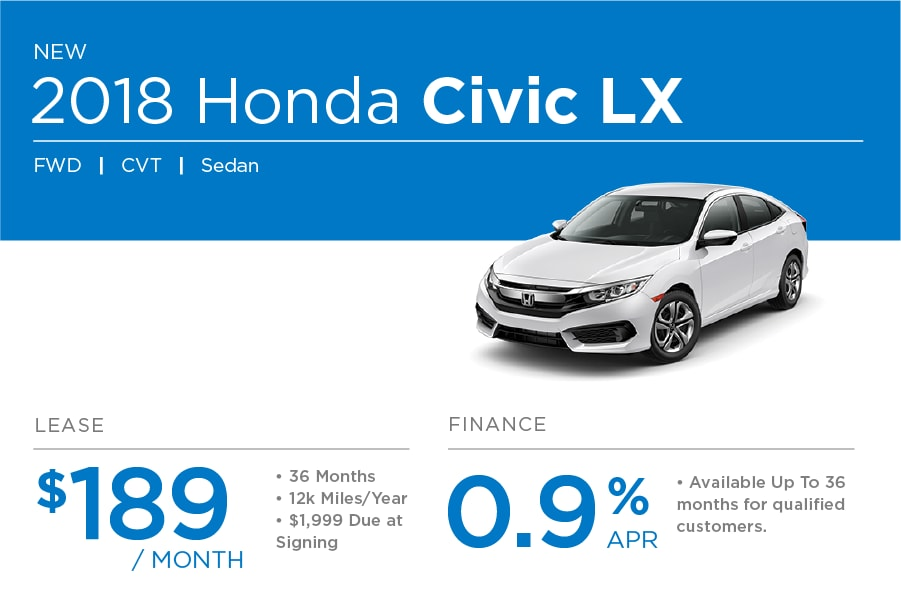 Honda Civic Special Offer