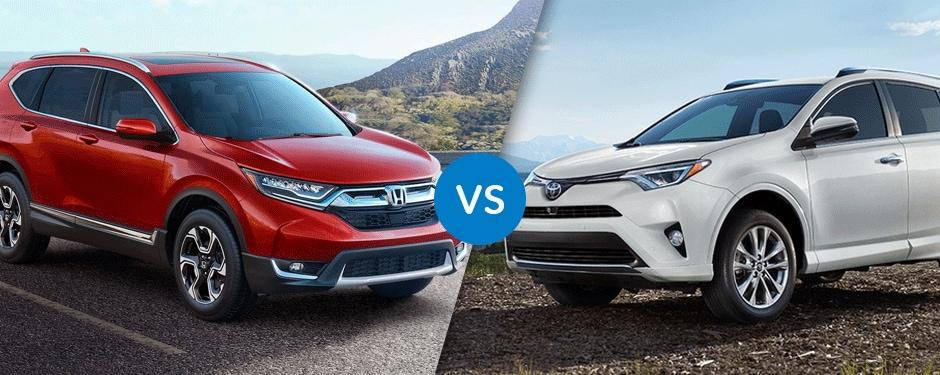Comparison: 2017 Honda CR-V vs 2017 Toyota RAV4