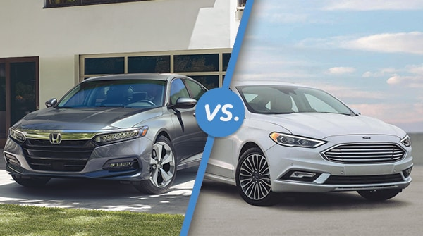 Comparison: 2018 Honda Accord vs 2018 Ford Fusion