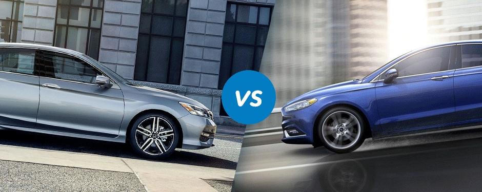 Comparison: 2017 Honda Accord vs 2017 Ford Fusion