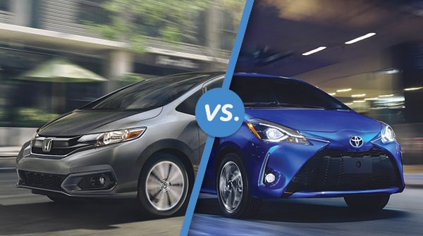 Comparison: 2018 Honda Fit Vs 2018 Toyota Yaris