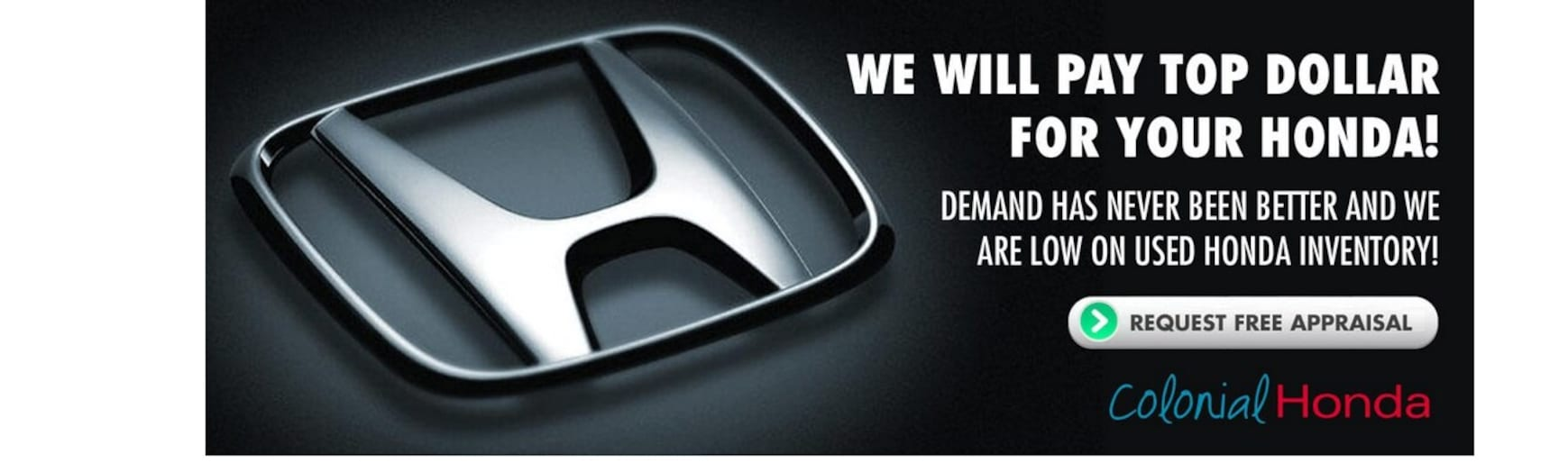 Halifax Honda Dealership Serving Halifax | Honda Dealer | Colonial Honda