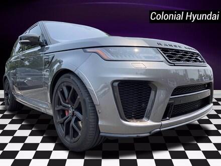 2018 Land Rover Range Rover Sport SVR V8 Supercharged SVR