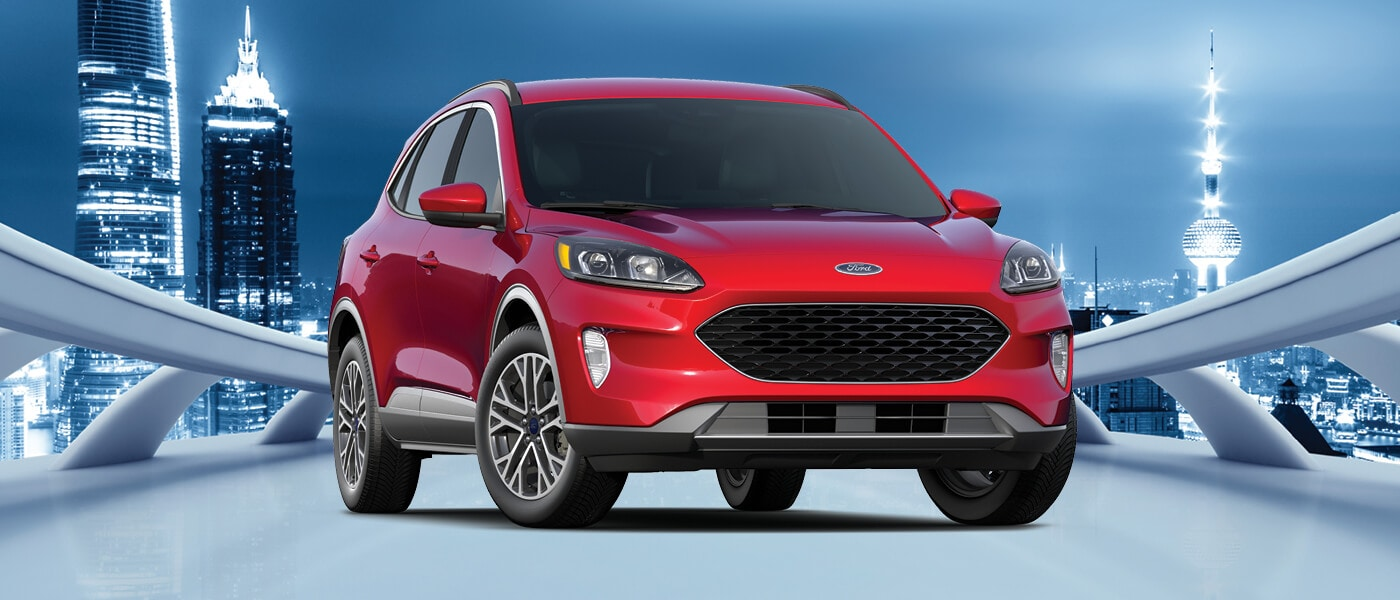 2020 Ford Escape parked outside