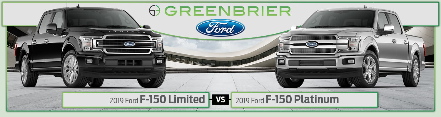 2019 Ford F-150 Platinum vs. Limited