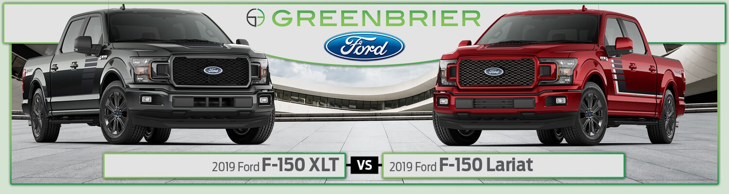 2019 Ford F-150 XLT vs. Lariat Trim